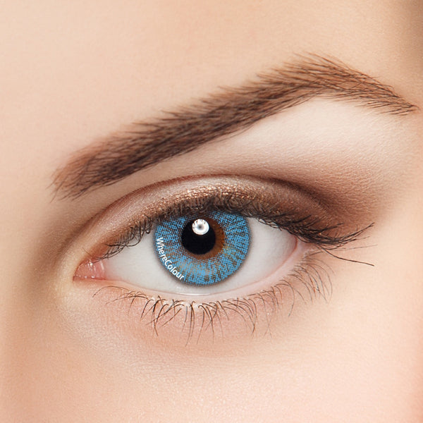 WhereColour Celebrity Blue Colored Contact Lenses