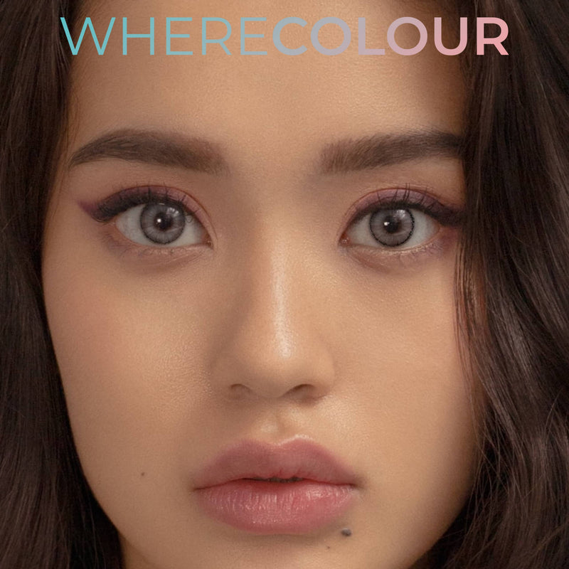 WhereColour Tears Grey Contacts