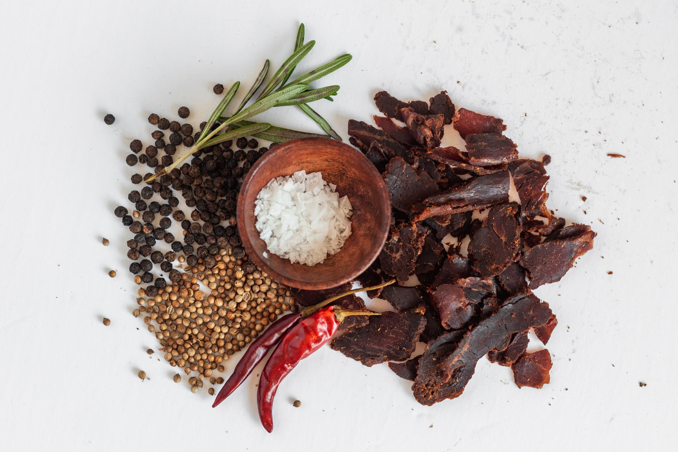jerky and ingredients