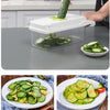 Multifunctional Vegetable Set Chopper Grater