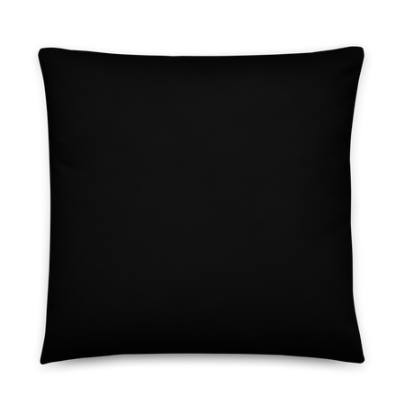 Drip Haze Throw Pillow