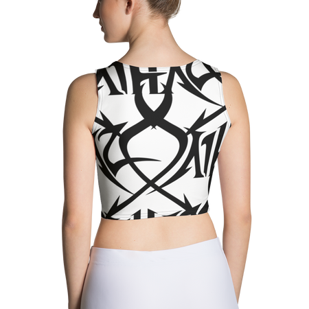 Plastered Haze Crop Top