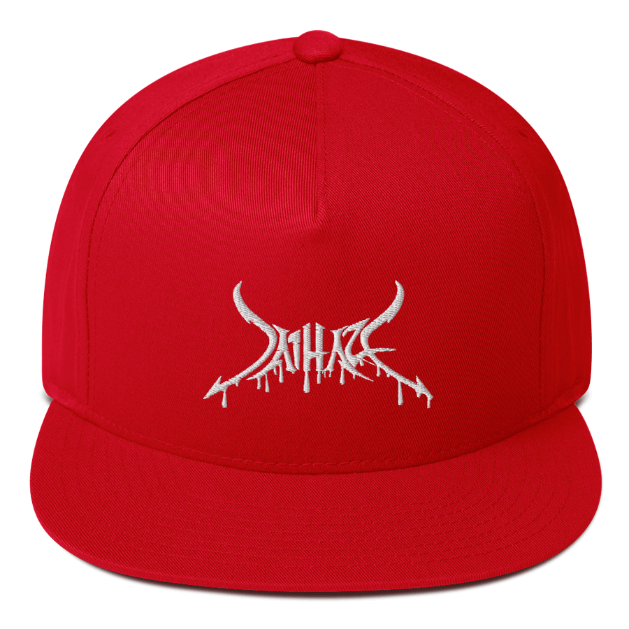 Embroidered Dripping Haze Snapback