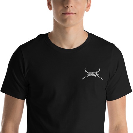 Short-Sleeve Unisex Embroidered