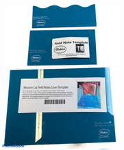 Load image into Gallery viewer, Acrylic template - Western cut field notes cover
