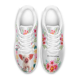Pig Personalized Sneaker-Gift for Pig Lovers