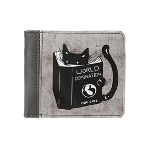 Black Wallet Cats-Gift for Cat Lover