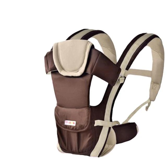Baby Carrier with Hip Seat Baby Wrap Carrier All Season Multifunctional Baby Carrier Newborn to Toddler Baby Carrier Front and Back for Men and Girls - Heybaby.