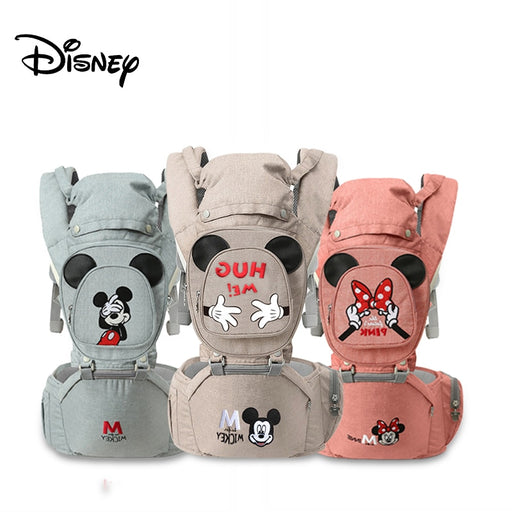 Infant Disney Baby Wrap Carrier All Positions Baby Carrier, Baby Hip Seat Ergonomic Carrier, Newborn to Toddlers Carrier Perfect For Disney Lovers, All Adjustable Buckles - Heybaby.