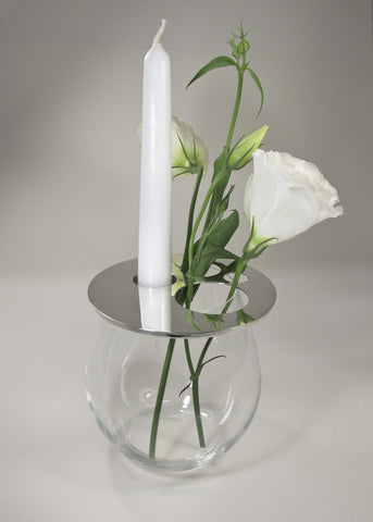 Vase Cover and Candle Holder