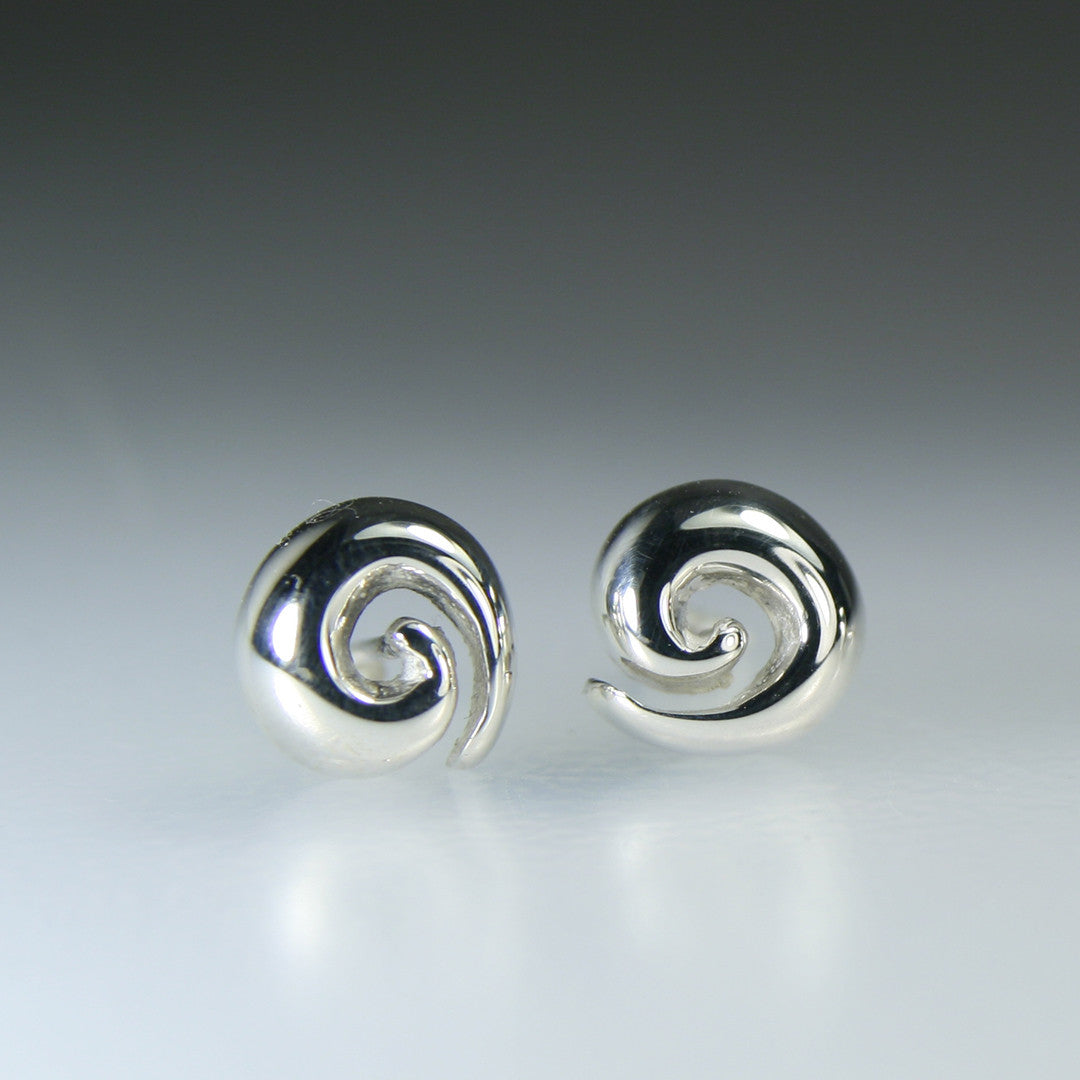 Chubby Spiral Earring