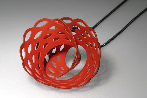 Spiral Doily Necklace