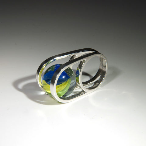 Rolling Marble Ring