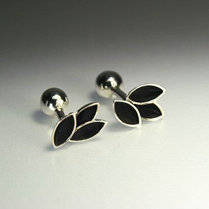 Tulip Cuff Links