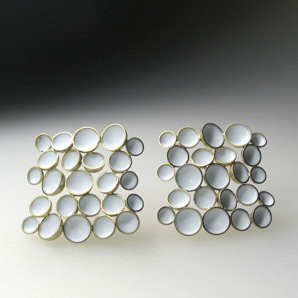 Square Foam Earrings