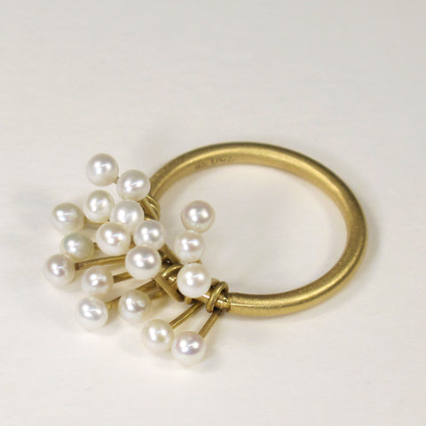 Rattle Pearl Ring