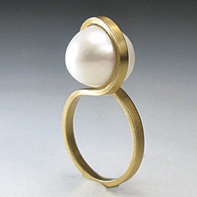 Infinite Pearl Ring