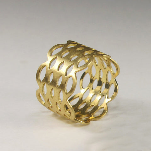 Doily Loop Ring