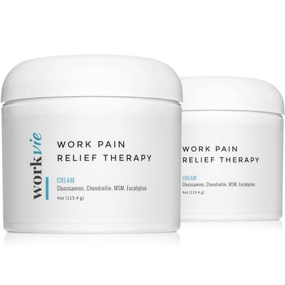 Workvie Pain Relief Therapy Cream 4 oz
