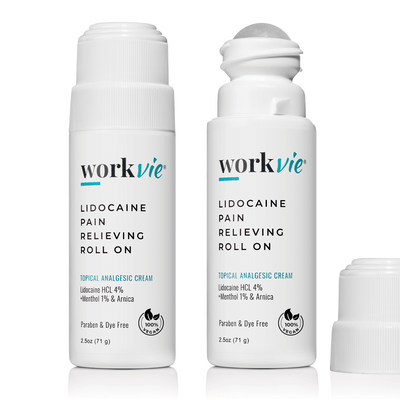 Workvie Lidocaine Roll On Pain Relief Cream