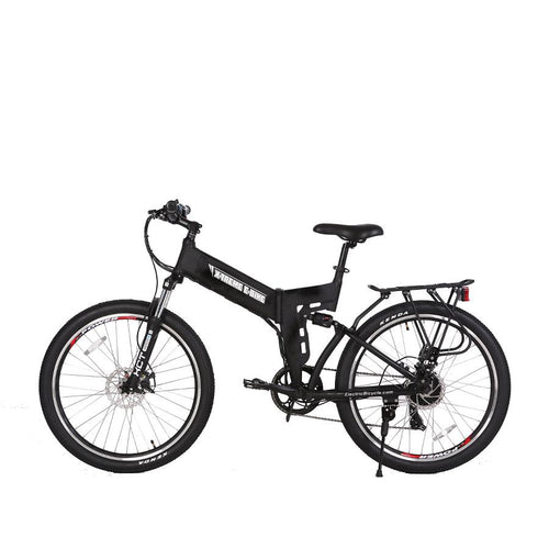 XTreme XCursion Elite 24 Volt Electric Folding Mountain Bicycle - 300W