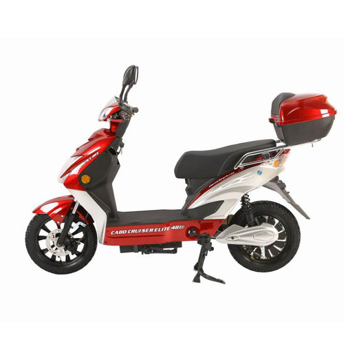 XTreme Cabo Cruiser Elite 48 Volt 2 Wheel Power Assisted E Scooter - 500W