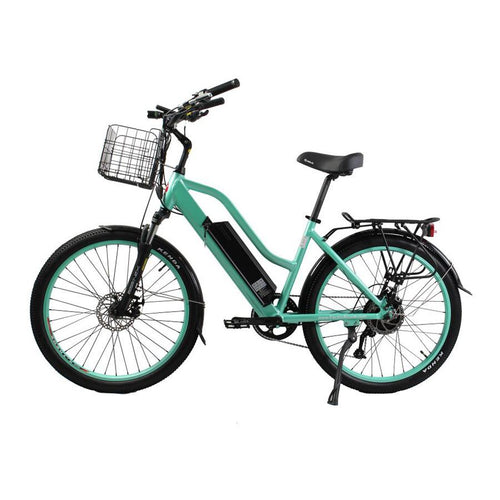 XTreme Catalina 48 Volt Step-Through Beach Cruiser E Bike - 500W