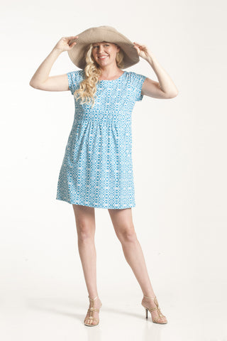 Teal Sanibel Pocket Dress