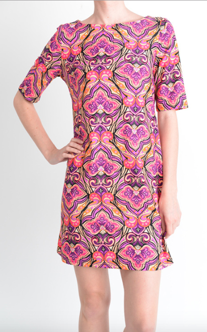 Madeira Pink Tunic Dress