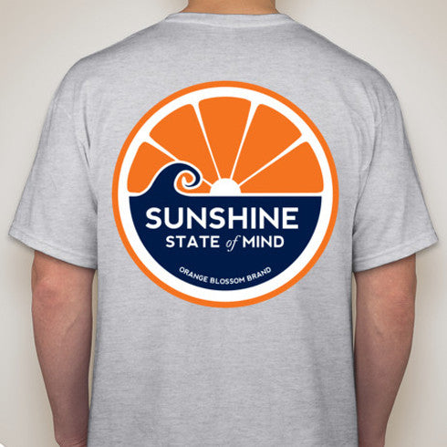 Sunshine State of Mind Tee - Grey