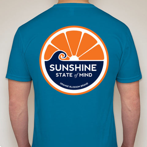 Sunshine State of Mind Tee - Turquoise