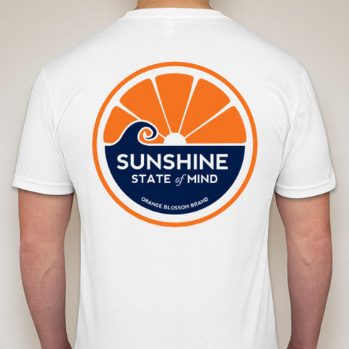 Sunshine State of Mind Tee - White