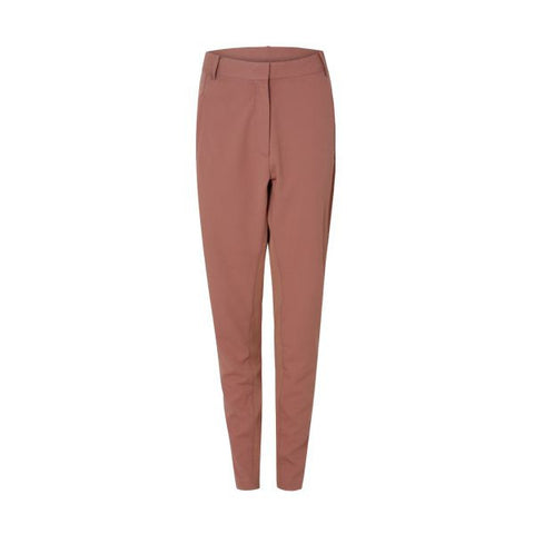 Coster Copenhagen Ash Rose Suit Pants With Rib