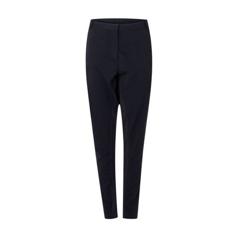 Coster Copenhagen Navy 'Suit Pants' With Rib