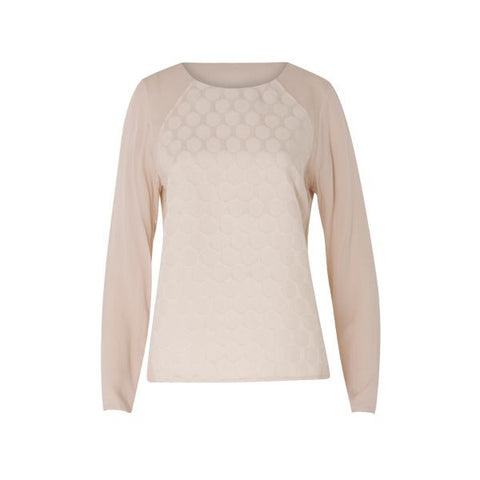 Coster Copenhagen Powder Colour Long Sleeved Blouse