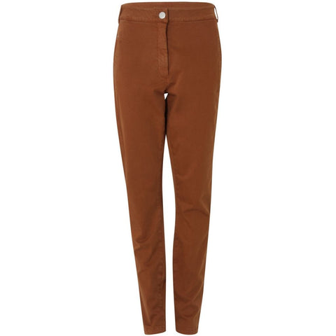 Coster Copenhagen Relaxed Fit Trouser Burnt Orange