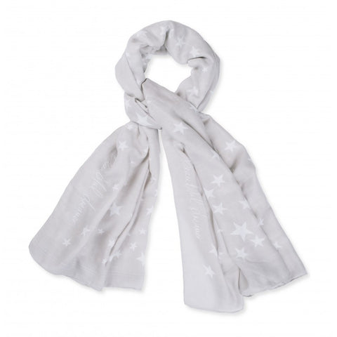 Katie Loxton Star Print Scarf - Beautiful Dreamer