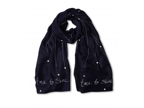Katie Loxton Star Print Scarf- Time To Shine