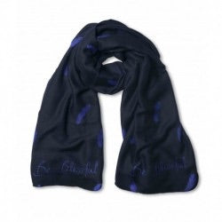 Katie Loxton Feather Print Scarf- Be Blissful