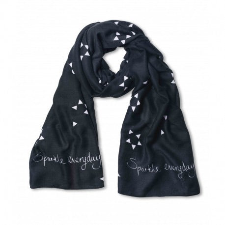 Katie Loxton Triangular Sun Print Scarf- Sparkle Everyday
