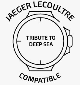 rubber strap compatible with Jaeger LeCoultre® Tribute to Deep Sea