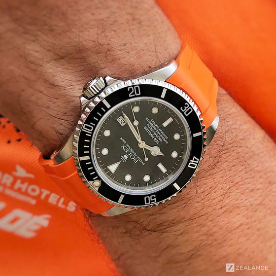 RUBBER STRAP FOR ROLEX® SEA-DWELLER (5 DIGITS)