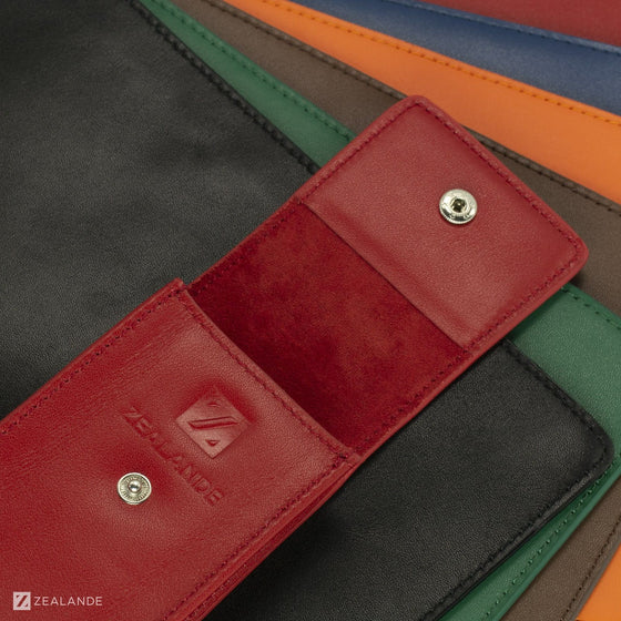 ZEALANDE® LEATHER WATCH POUCH (6 COLORS)