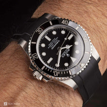 RUBBER STRAP FOR ROLEX® SUBMARINER WITHOUT DATE (6 DIGITS)