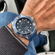 "RUBBER STRAP FOR OMEGA® SEAMASTER DIVER 300M ""JAMES BOND"""