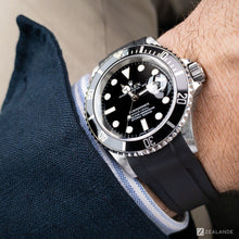 RUBBER STRAP FOR ROLEX® SUBMARINER WITH DATE (5 DIGITS)