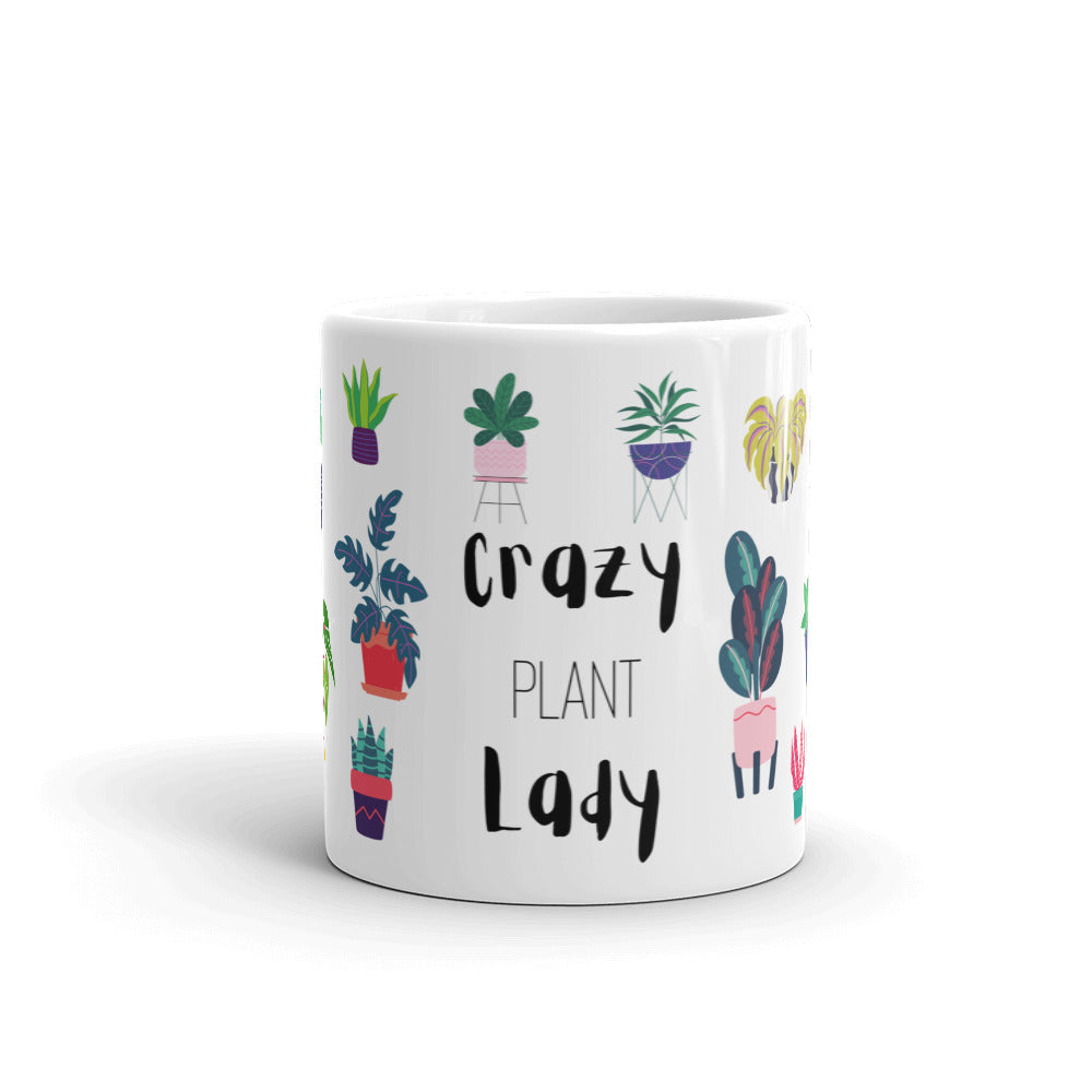 Crazy Plant Lady - Plant Lover Mug