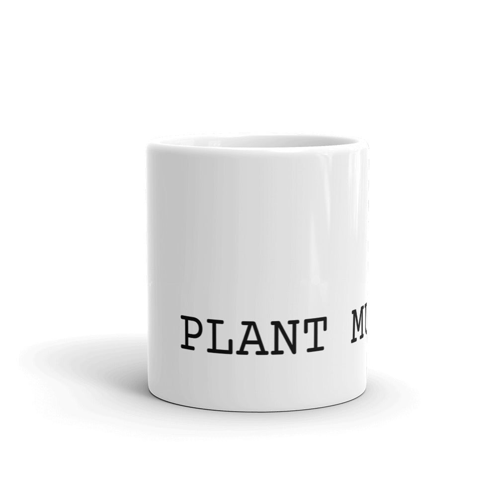Plant Mum - Simple Typewriter Text
