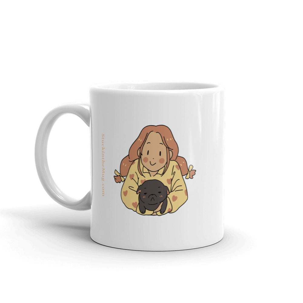Dear MOM - Pug Coffee Mug | Thank you
