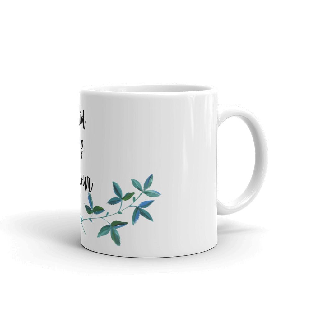Maid of Honour - Celebration Fun Playful Mug | White glossy mug